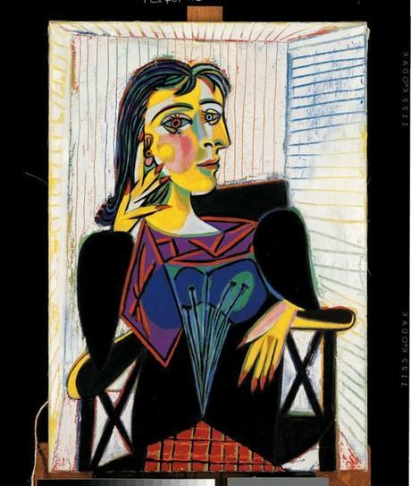 una immagine di Pablo picasso Portrait de Dora Maar 620x732 su Picasso a Palazzo Reale: Capolavori in Mostra