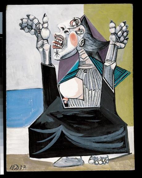 una immagine di Pablo Picasso La suppliante 620x778 su Picasso a Palazzo Reale: Capolavori in Mostra
