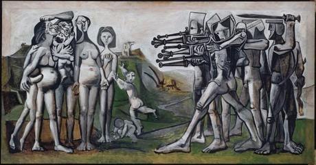 una immagine di Pablo Picasso Massacre en Corée 620x326 su Picasso a Palazzo Reale: Capolavori in Mostra