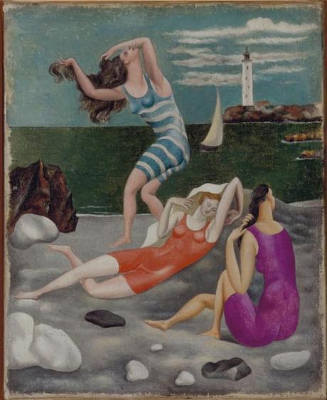una immagine di Pablo Picasso Les baigneuses 620x758 su Picasso a Palazzo Reale: Capolavori in Mostra