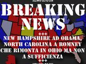 2012: Hampshire chiamato Obama. Nessuno fatto chiamiamo NORTH CAROLINA Romney rimonta Ohio, punti rimangono pochi voti scrutinare
