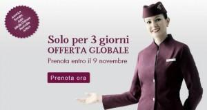Qatar Airways: offerta lampo globale!