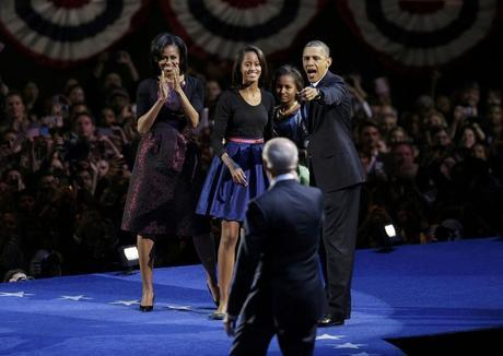 YES HE DID, Obama di nuovo presidente.