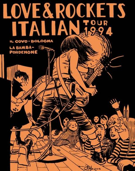 Davide Toffolo e Love and Rockets: le vidi suonare