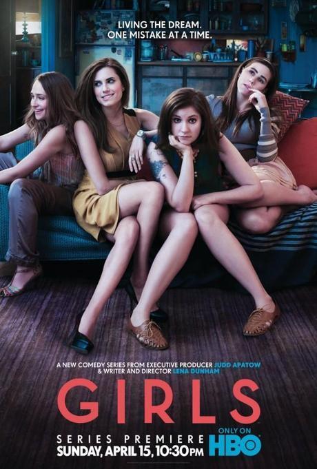 una immagine di Girls Serie Tv 2012 in corso 620x919 su Girls: Mitomania e Velleità dei Ventenni di Oggi