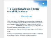 Apple attiva indirizzi @icloud.com