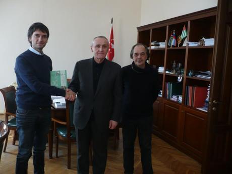 INTERVISTA AL PRESIDENTE DELL'ABCASIA