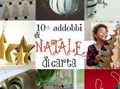 Abbobbi Natale Decorazioni Riuso Creativo della Carta