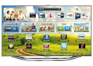 "Samsung SMART TV ES8000 55"": una TV amica dell'ambiente!"