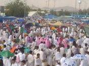 "Italiana musulmana pellegrina Arabia Saudita: Hajj"""