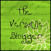 The versatile blogger! un premio per me!