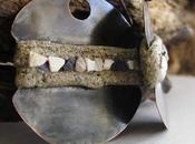 Orecchini sabbia frammenti