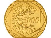 Zecca Parigi. moneta d'oro 5000 euro