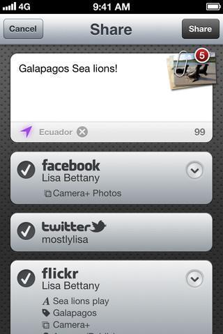 App Store: aggiornamento per Camera+ con tante interessanti novità