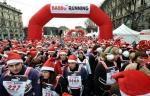 Babbo Running, corsa dei Babbi Natale a Milano