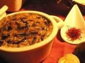 terrina autunnale, castagne, radicchio rosso zafferano