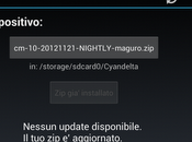 CyanogenMod: CM10 Nightly 20121121