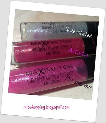 Max Factor Vibrant Curve Effect Lipgloss