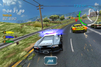In arrivo Need for Speed Hot Pursuit su iPhone