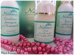 Detergente[Tonico]Crema per pelli sensibili