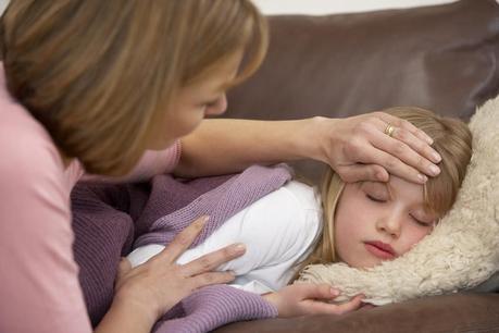 I vapori balsamici migliorano il sonno nei bambini con raffreddore