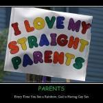 Lo stigma di cortesia di mamma e papà