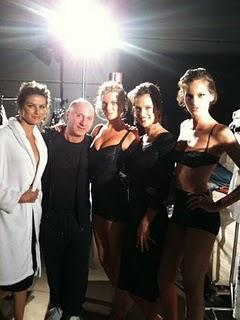 Waiting New ad Campaign Dolce & Gabbana Woman p/e 2011 - Backstage