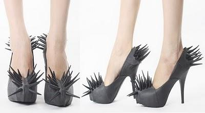 Barbara Gongini Spiked Pumps ...... !!!