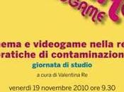 Cinema videogame nella rete: pratiche contaminazione Venezia novembre 2010