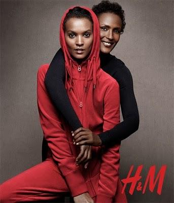 H&M; holiday campaign - Crazy about RED !