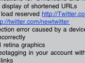 AppStore Twitter aggiorna alla V.3.2 interessanti novità