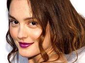 Beauty trend: rossetto viola Leighton Meester Gossip Girl