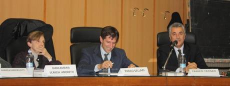 Il professor Franco Fatigati pronuncia il suo intervento