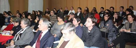 Un'immagine del pubblico in sala