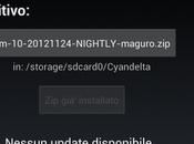 CyanogenMod: rilasciata CM10 Nightly 20121124