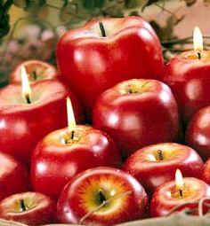 Centrotavola di natale fai da te con le mele paperblog - Decorazioni mela ...