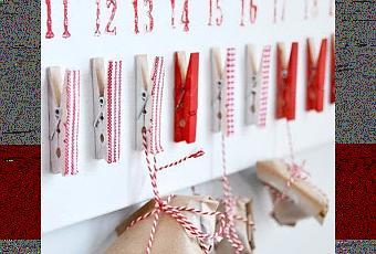 calendario avvento fai da te idee : Calendario dellAvvento fai da te. - Paperblog