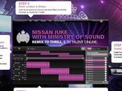 Nissan Juke Remix Thrill: contest sogna sfondare mondo della musica!