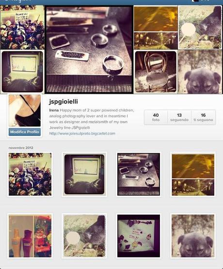 E voi ci siete su Instagram?