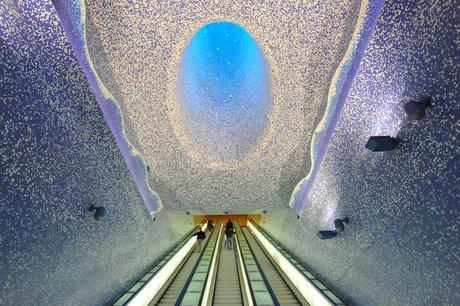 Telegraph: a Napoli la stazione metro più bella d'Europa