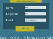 Inviare dati form senza refresh