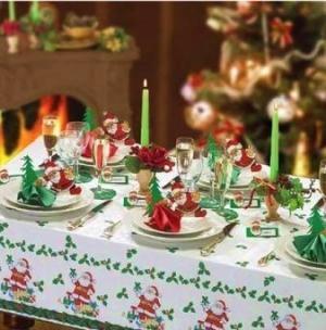 Apparecchiare e decorare la tavola di natale paperblog - Decorare la tavola per capodanno ...