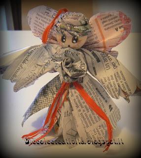 Angeli Con Carta Di Giornale Paperblog