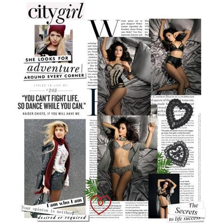 Fashion Blogger's Choice: In A Blonde World for Valery Lingerie