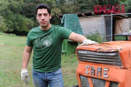 Renzo Bossi diventa agricoltore