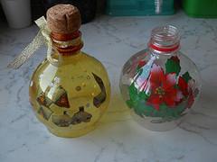 Bricolage Con Bottiglie Di Plastica.Bricolage Decorazione Di Natale Da Bottiglie Di Plastica