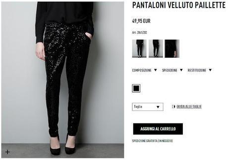 Sul sito di Zara trovo sempre cose carine che non compro mai