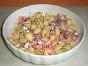 Conchiglie insalata mare
