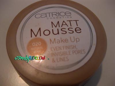 Catrice Cosmetics - Fondotinta Mousse Mat