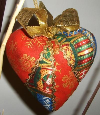 Decorazioni Natalizie Con Il Polistirolo.Decorazioni Per L Albero Di Natale Con Il Patchwork Su Polistirolo Paperblog